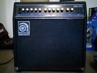 70w combo Guitar Amp. AMPEG SS70. Soliid State amp.
