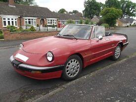 1987 Alfa Romeo Spider S3