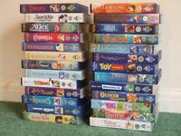 26x Disney films, VHS tapes, only £15 lot