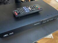 Panasonic DMP-BDT180 blu ray player (1080p, 4K upscale)