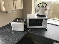 Kettle, Toaster & Microwave