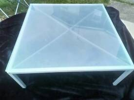 Large Glass coffee table from IKEA £5 call Glen 07391789221