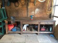 Solid workbench