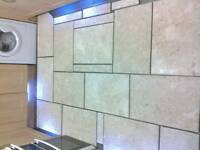 **Reduced** Marble floor tiles