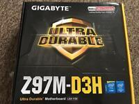 Gigabyte Z97M-D3H motherboard
