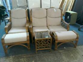Conservatory suite and Coffee table #33607 £95