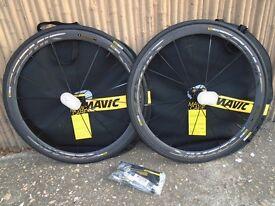 Mavic C40 Elite carbon road clincher wheels 2017