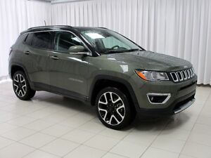 2017 Jeep Compass INCREDIBLE DEAL!! LIMITED 4X4 SUV W/ DUAL CLIM