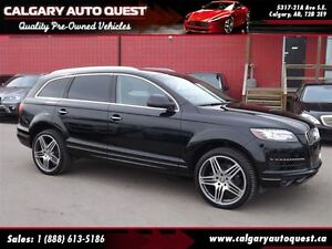 2013 Audi Q7 3.0T Premium Plus QUATTRO AWD/NAVI/B.CAM/LEATHER/R