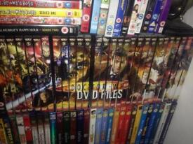 Doctor who files DVD collection.