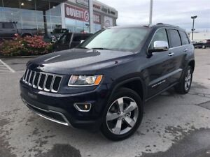 2016 Jeep Grand Cherokee Limited**CUIR**GPS**20 POUCES
