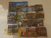 Lego Polybags BUNDLE!! Star Wars, SuperHeroes, Nexo Knights, Ninjago, Cars, City, Hobbit, Duplo...