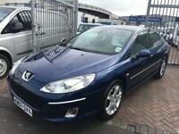 2007 07 PEUGEOT HDI TURBO DIESEL SALOON CHEAP BARGAIN CAR READY TO GO NEW MOT...