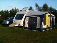 Full Bradcot Classic Caravan Awning in Factory Condition