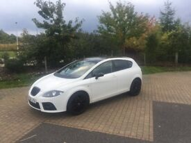 White Seat Leon FR TDI 2.0L - EXCELLENT CONDITION