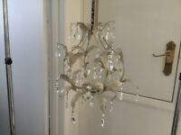 Vintage style ceiling light shade