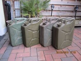 Jerry cans (4)