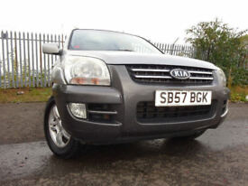 57 KIA SPORTAGE X 2.0 4X4,MOT FEB 018,2 OWNERS FROM NEW,FULL SERVICE HISTORY 2 KEYS,STUNNING EXAMPLE
