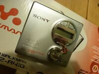 SONY MINI DISC RECORDER/PLAYER MZ-R 410