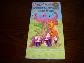 'Sing Along Songs & Stories for Kids' 4 CD's & 4 Books