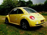 2009 Vw Beetle 1.6 Luna * Sunflower Yellow * 1 Previous Owner * polo golf audi a3 mini cc fabia audi
