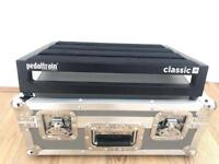 Pedaltrain Classic Jr with Hard Tour Case Junior Pedalboard Guitar Cased Flight