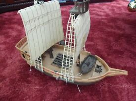 Pirate ship approx 40cm long £3