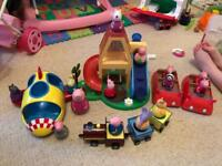 Peppa Pig Weebles (some brand new)