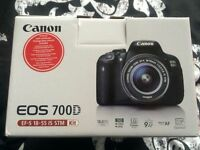 Canon EOS 700D with kit lens
