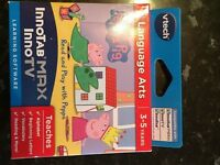 Vtech Innotab max peppa pic interactive learning game