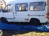9 seat minibus spares/repairs