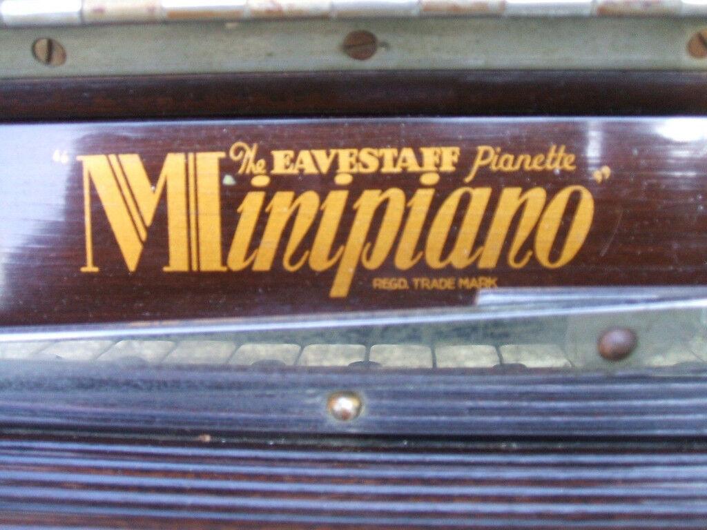 EAVESTAFF Minipiano Full 7 Octaves, 85 Keys.