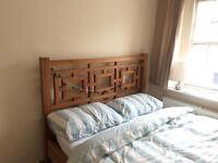 Bespoke Solid Oak Bed