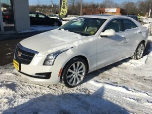 2015 Cadillac ATS Luxury, Sunroof, AWD, Only 57, 000km