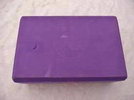 Purple Wai Lana Yoga Brick / Block Support Fitness Equipment