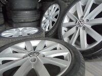 17inch GENUINE vw mk6 7 ronal 5x112 audi alloys wheels golf mk5 caddy a3 t4 t3 transporter camper