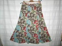 Boden Skirt, patterned fine corduroy, Ladies size 12 Long