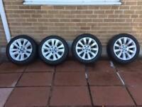 17 inch, 10 Spoke BMW Alloys - with Tyres