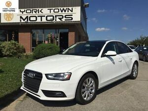 2013 Audi A4 QUATTRO | PREM SPORT | 6-SPD | SUNROOF | LEATHER |