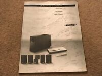 The Bose Lifestyle 8 series II system Owner's Manual book