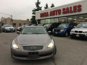 2009 Infiniti G37 AWD AUTO NAVIGATION BLUETOOTH LEATHER BACK UP