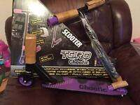 Torq chaotic scooter NEW