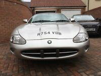 Jaguar XK8 Coupe Platinum Silver Good Condition Replacement engine from 2007 Recent upgrades