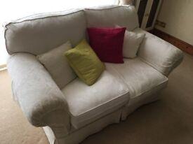 Cream sofa for sale in Faversham