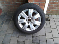 "Four new16"" Alloy Wheels with winter tyres"