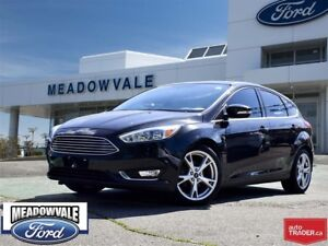 2015 Ford Focus TITANIUM,LEATHER,NAVIGATION,SUNROOF