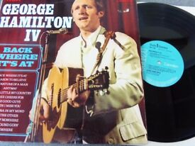 George Hamilton IV ‎– Back Where It's At RCA Camden ‎– CDS 1126 autographed on back cover