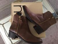 Next leather boots brand new size 7