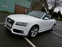 Audi A5 Cabriolet SLine White