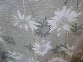 Next size 26 Grey flowers short sleeved plus size excellent condition
